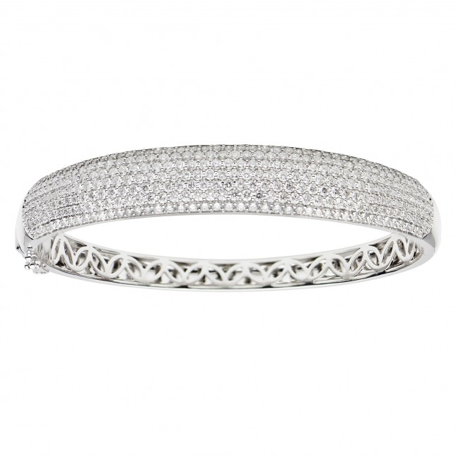 Diamond Bangle (3.75 ct. tw.) - B003698