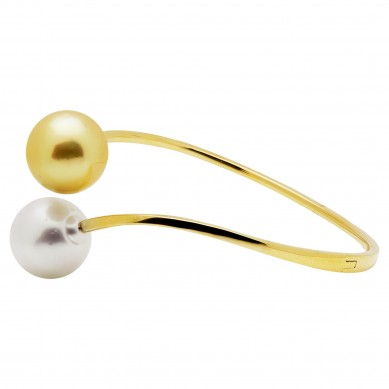 Pearl Bangle - B002002 - Small Image