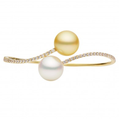 Pearl Bangle (1.03 ct. tw.) - B002006 - Small Image