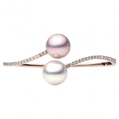Pearl Bangle (1.03 ct. tw.) - B003004 - Small Image