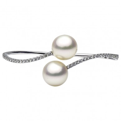 Pearl Bangle (1.03 ct. tw.) - B003016-1 - Small Image