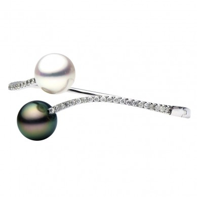 Pearl Bangle (1.03 ct. tw.) - B003016 - Small Image