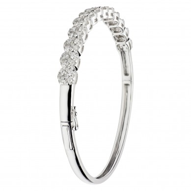 Diamond Bangle (3.26 ct. tw.) - B003394-1 - Small Image