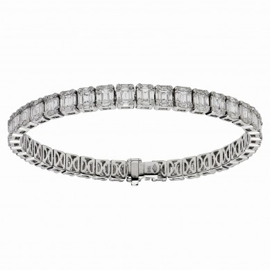 Diamond Bracelet (7.17 ct. tw.) - B003674 - Small Image