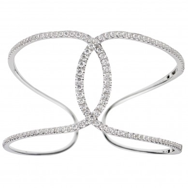 Diamond Bangle (8.70 ct. tw.) - B003694 - Small Image