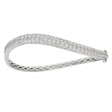 Diamond Bangle (2.43 ct. tw.) - B003696 - Small Image