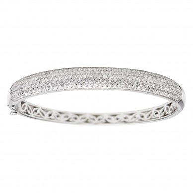 Diamond Bangle (2.85 ct. tw.) - B003697 - Small Image