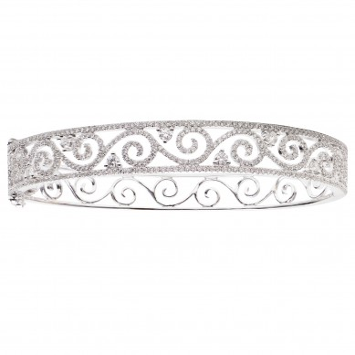 Diamond Bangle (2.03 ct. tw.) - B003713 - Small Image
