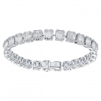 Diamond Bracelet (8.57 ct. tw.) - B003738 - Small Image
