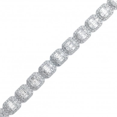 Diamond Bracelet (7.78 ct. tw.) - B003739 - Small Image