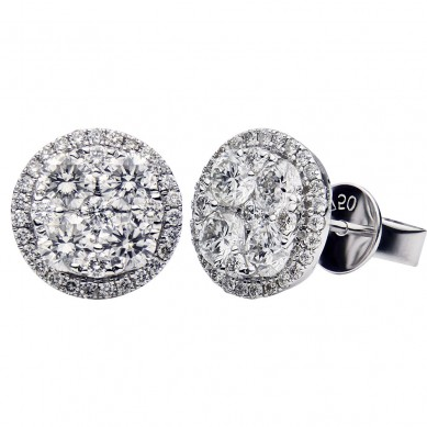 Diamond Earrings (1.50 ct. tw.) - E003540 - Small Image