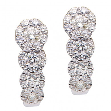 Diamond Earrings (1.08 ct. tw.) - E003543 - Small Image