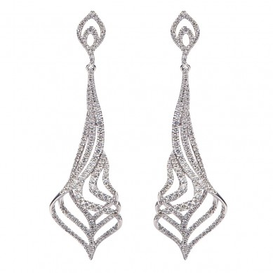 Diamond Earrings (2.03 ct. tw.) - E003580 - Small Image
