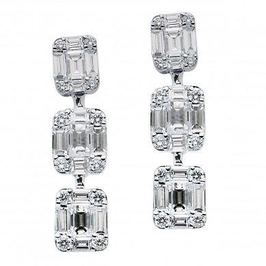 Diamond Earrings (1.44 ct. tw.) - E003741 - Small Image