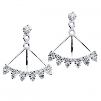 Diamond Earrings (0.94 ct. tw.) - E003772 - Small Image