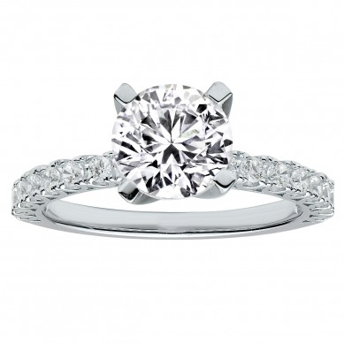Diamond Engagment Ring (0.31 ct. tw.) - J003030-7.5 - Small Image