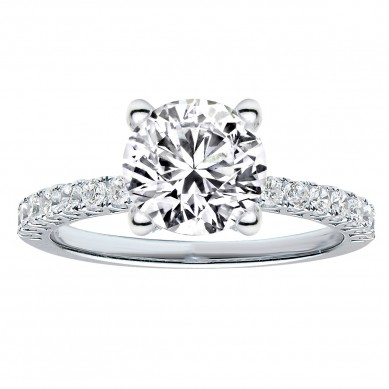 Diamond Engagment Ring (0.52 ct. tw.) - J003031-7.5 - Small Image