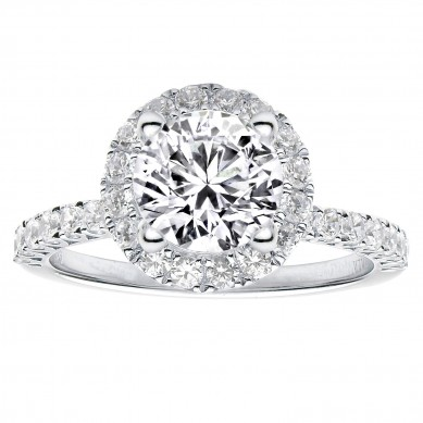 Diamond Engagment Ring (0.77 ct. tw.) - J003032-7.5 - Small Image