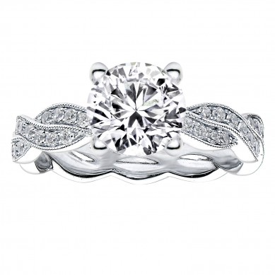 Diamond Engagment Ring (0.24 ct. tw.) - J003034-7.5 - Small Image