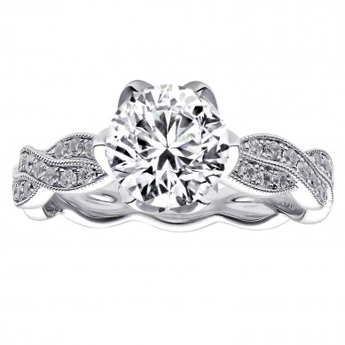 Diamond Engagment Ring (0.24 ct. tw.) - J003035-7.5 - Small Image