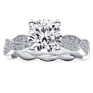 Diamond Engagment Ring (0.45 ct. tw.) - J003036-7.5 - Small Image