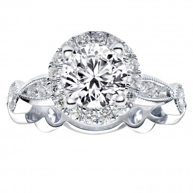 Diamond Engagment Ring (1.41 ct. tw.) - J003039-7.5 - Small Image