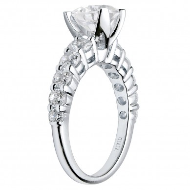Diamond Engagment Ring (1.13 ct. tw.) - J003040-7.5 - Small Image
