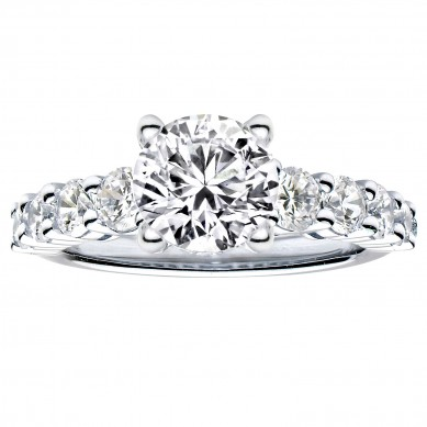 Diamond Engagment Ring (1.34 ct. tw.) - J003041-7.5 - Small Image