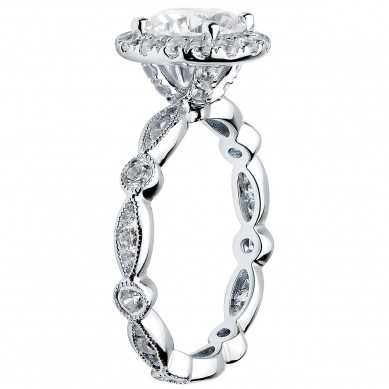 Diamond Engagment Ring (0.87 ct. tw.) - J003044-7.5 - Small Image