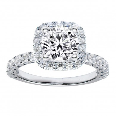 Diamond Engagment Ring (0.96 ct. tw.) - J003046-7.5 - Small Image