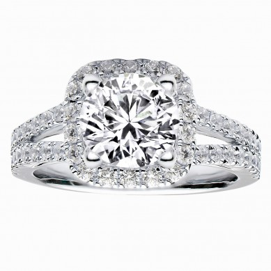 Diamond Engagment Ring (0.92 ct. tw.) - J003047-7.5 - Small Image