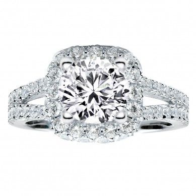 Diamond Engagment Ring (1.28 ct. tw.) - J003048-7.5 - Small Image