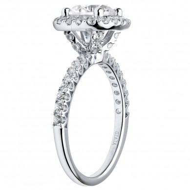 Diamond Engagment Ring (0.76 ct. tw.) - J003051-7.5 - Small Image