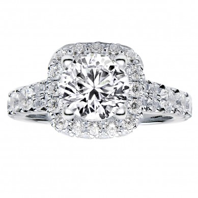 Diamond Engagment Ring (1.51 ct. tw.) - J003052-7.5 - Small Image
