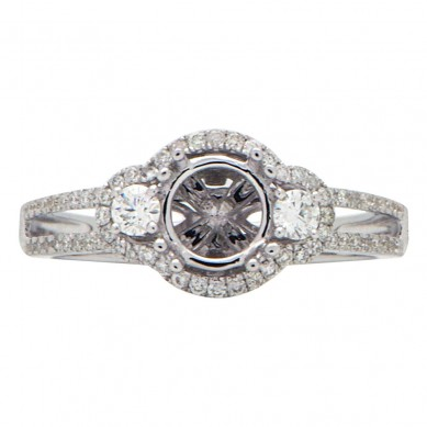 Diamond Semi Mount Ring (0.39 ct. tw.) - M003602 - Small Image