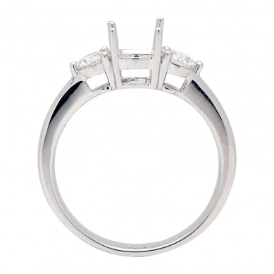 Diamond Semi Mount Ring (0.33 ct. tw.) - M003604 - Small Image