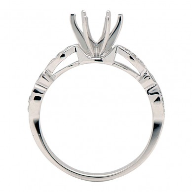 Diamond Semi Mount Ring (0.18 ct. tw.) - M003605 - Small Image