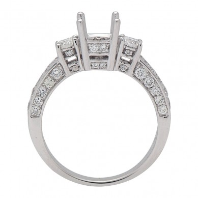 Diamond Semi Mount Ring (0.85 ct. tw.) - M003606 - Small Image