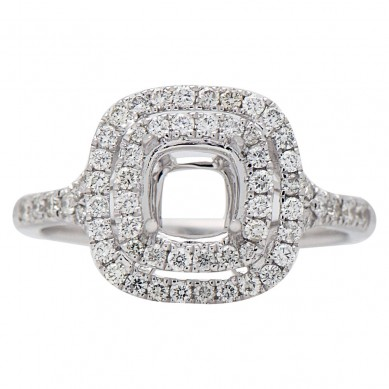 Diamond Semi Mount Ring (0.51 ct. tw.) - M003607 - Small Image