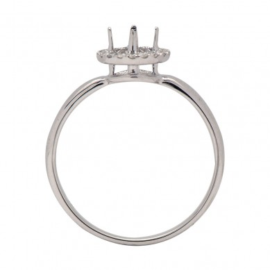 Diamond Semi Mount Ring (0.12 ct. tw.) - M003608 - Small Image