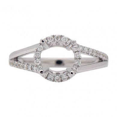 Diamond Semi Mount Ring (0.32 ct. tw.) - M003612 - Small Image