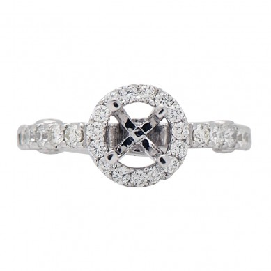 Diamond Semi Mount Ring (0.58 ct. tw.) - M003613 - Small Image