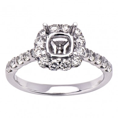 Semi Mount Diamond Ring (0.71 ct. tw.) - M003619 - Small Image