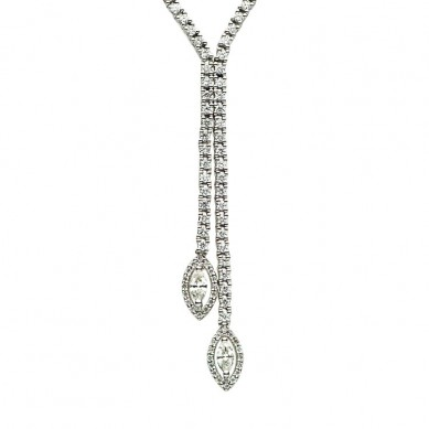 Diamond Necklace (2.11 ct. tw.) - N003331 - Small Image