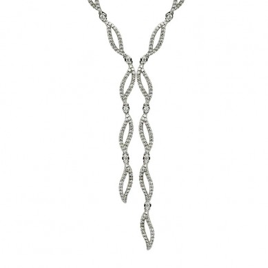 Diamond Necklace (1.86 ct. tw.) - N003332 - Small Image