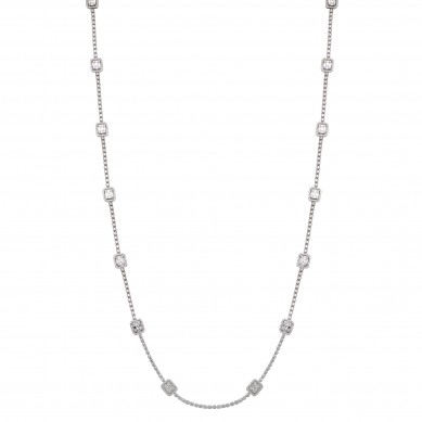 Diamond Necklace (12.46 ct. tw.) - N003717 - Small Image