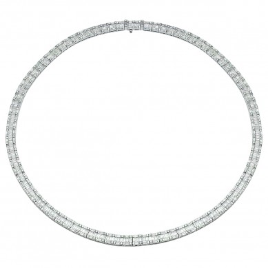 Diamond Necklace (13.76 ct. tw.) - N003737 - Small Image
