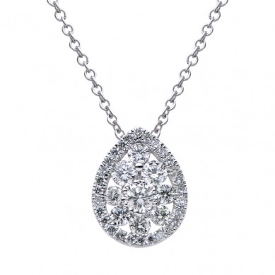 Diamond Pendant (0.73 ct. tw.) - P003453 - Small Image