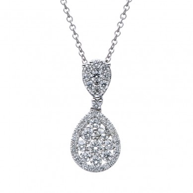 Diamond Pendant (0.96 ct. tw.) - P003454 - Small Image