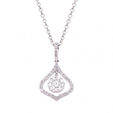 Diamond Pendant (0.49 ct. tw.) - P003457 - Small Image